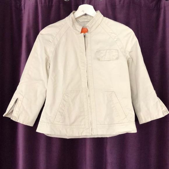 Joe Fresh Jackets & Blazers - Khaki jacket with three quarter sleeves